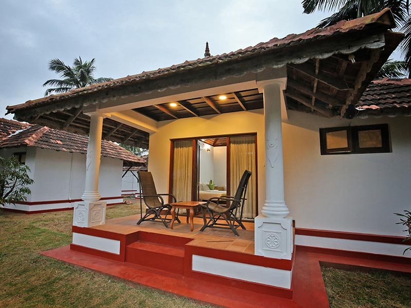 kerala cottage exterior view